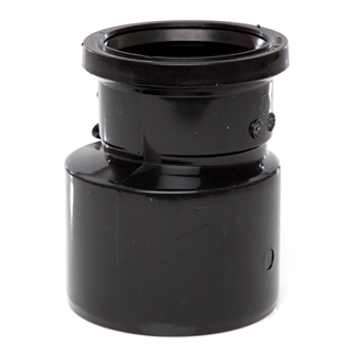 Polypipe Soil & Vent 110mm Reducer to 82mm Soil Black SD34