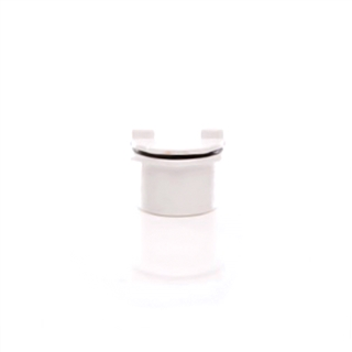 Polypipe Push-Fit Waste 40mm Screwed Access Plug White WP44