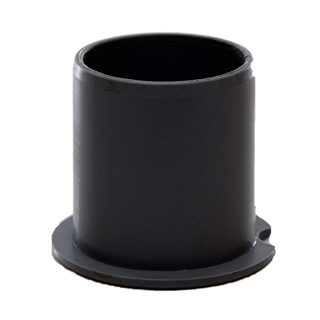 Polypipe Push-Fit Waste 50mm Socket Plug Black WP72