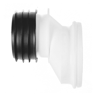 Polypipe Kwickfit 110mm Offset Pan Connector 40mm SK52