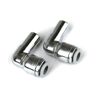 Altecnic 10mm Male and Female Pushfit Elbows Chrome (Pair)
