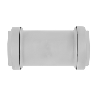 Polypipe Push-Fit Waste 40mm Universal Waste Coupler Grey UWC40