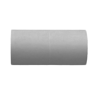 Polypipe Overflow 21.5mm Push-fit Straight Connector Grey VP44