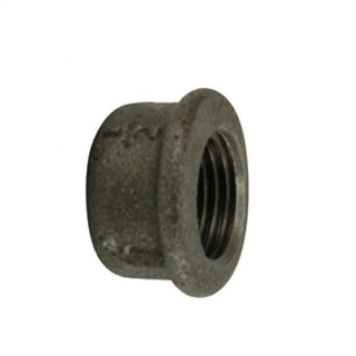 Black Iron Cap ½""