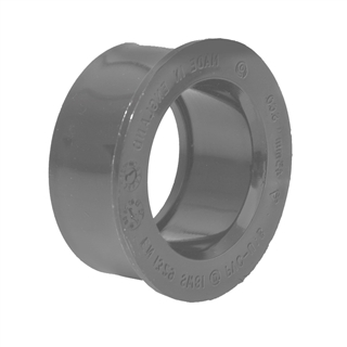 Polypipe Solvent Weld Waste 32mm Boss Adapter Solvent Grey SW80
