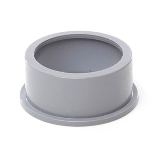 Polypipe Solvent Weld Waste 50mm Boss Adapter Solvent Grey SW82