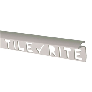 Tile Rite TEL054 Extra Deep Tile Edging 12mm 8' White