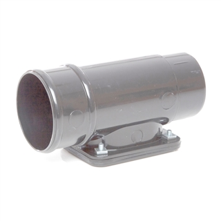 Polypipe Rainwater Round Pipe 68mm Access Pipe Grey RR135