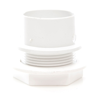 Polypipe Solvent Weld Waste 40mm Tank Connector White WS36