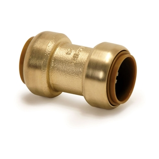 Tectite Push-Fit Fitting T1 15mm Straight Coupling