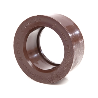 Polypipe Solvent Weld Waste 40mm Boss Adapter Brown SW81