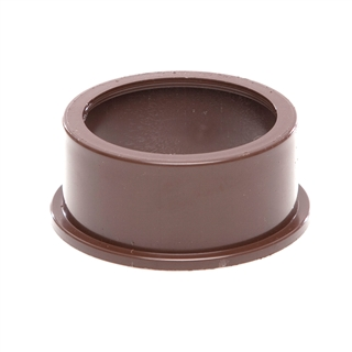 Polypipe Solvent Weld Waste 50mm Boss Adapter Solvent Brown SW82