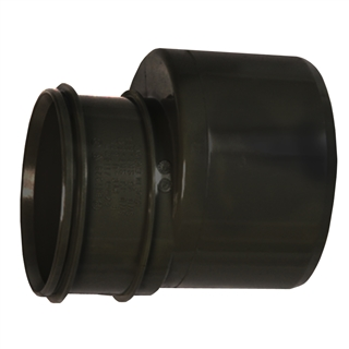 Polypipe Soil & Vent 110mm Reducer to 82mm Black SWD96