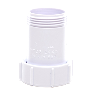 Polypipe Nuflo Waste to Trap Connector Unequal 32-40mm WTC2