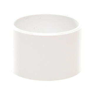 Polypipe Solvent Weld Waste 40mm Socket Plug White WS45
