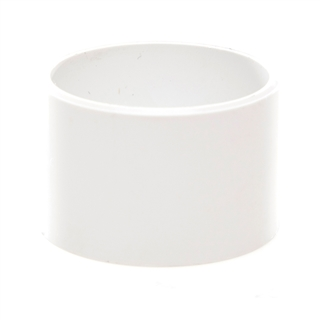Polypipe Solvent Weld Waste 50mm Socket Plug White WS55