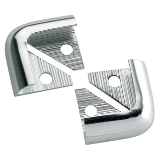 Tile Rite SSC152 8mm Silver Metal Corners (Pack of 2)