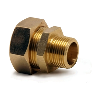 """Kuterlite Compression Fitting K611P 15mm x ½"""" Male Coupling"""