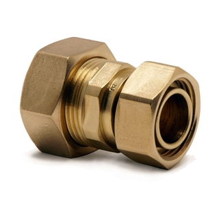 """Kuterlite Compression Fitting K626 22mm x ¾"""" Straight Tap Connector"""
