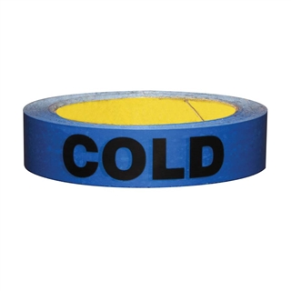 Talon Cold Pipe Identity Tape 25mm x 60m