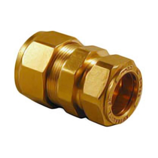 Kuterlite Compression Fitting K710KP 25mm x 22mm Coupling Polyethylene to Copper
