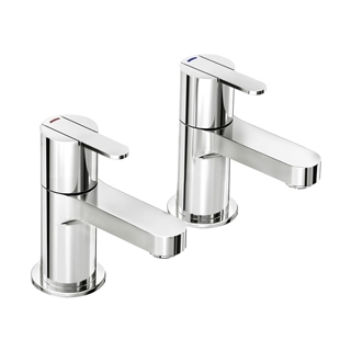 Bath Pillar Taps (Pair) ITA037