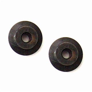 Replacement Wheels for Size 0, 1, 2A or 3 Pipe Cutter (Pack of 2)