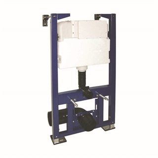 980mm WC Frame with Dual Flush Cistern