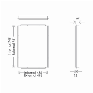Cabinet Fixing Frame