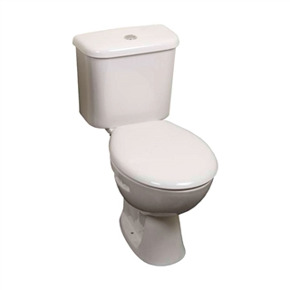Trade Close Coupled Toilet 6/4 Litre Cistern with Fittings ITO001