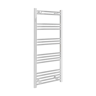 Flat Towel Rail 500mm x 1200mm White 19mm Bar