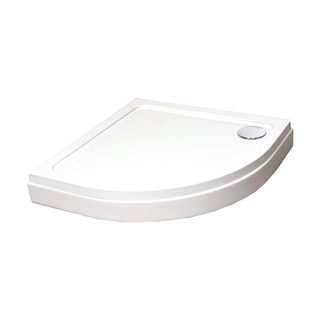 1000mm x 1000mm Quadrant Shower Tray Panel Kit 1