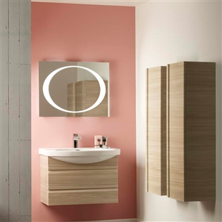 Backlit Mirror with Heated Demister 600mm x 800mm