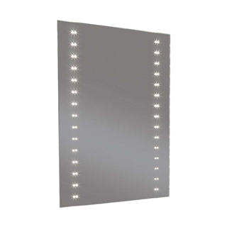 LED Mirror with Heated Demister and Shaver Socket 600mm x 800mm