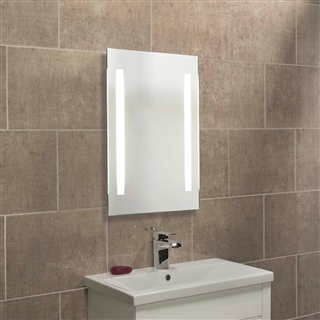 Backlit Mirror with Pull Cord Switch 450mm x 700mm