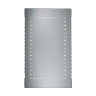 LED Mirror with Heated Demister and Rocker Switch 500mm x 700mm