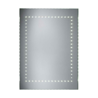 LED Mirror with Heated Demister and Rocker Switch 600mm x 800mm