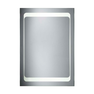 Backlit Mirror with Heated Demister and Rocker Switch 600mm x 800mm