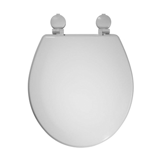 Moulded Wood Toilet Seat with Plastic Hinges ITS010