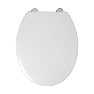 Thermoset Toilet Seat with Stainless Steel Swivel Hinge ITS018
