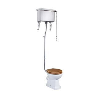High Level Toilet Cistern with Fittings ITO016