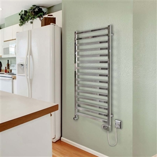 Vogue Serene Radiator 600mm x 1165mm Electric Only Chrome