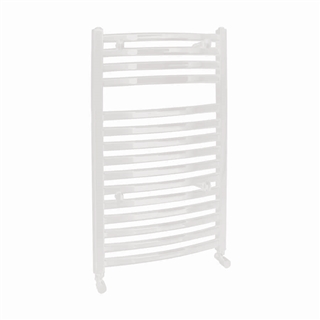 Vogue Curvee Radiator 500mm x 800mm Electric Only White