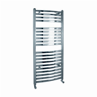 Vogue Curvee Radiator 500mm x 1100mm Heating Only Chrome
