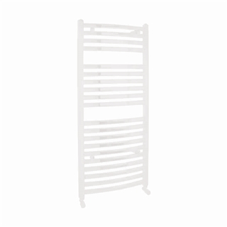 Vogue Curvee Radiator 500mm x 1100mm Electric Only White