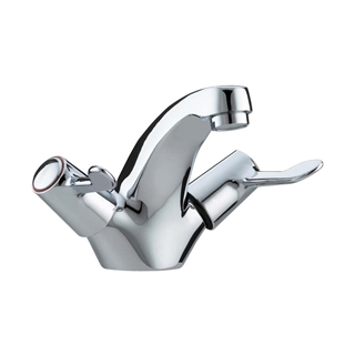 Bristan Value Lever Action Mono Basin Mixer with Pop Up Waste