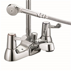 Bristan Value Lever Action Bath Shower Mixer with Shower Kit