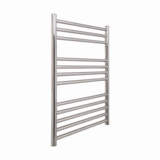 Vogue Chube Radiator 500mm x 800mm Heating Only Polished Stainless Steel