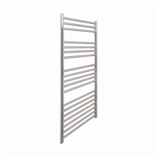 Vogue Chube Radiator 400mm x 1200mm Heating Only Polished Stainless Steel