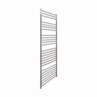 Vogue Chube Radiator 400mm x 1600mm Heating Only Polished Stainless Steel